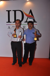 OUP representatives with IDA awards