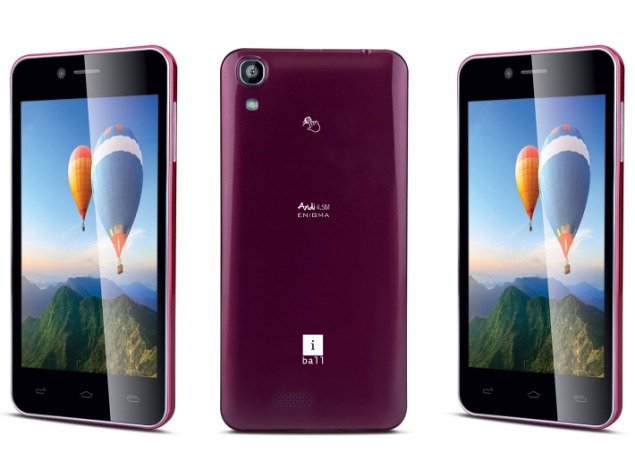 iball andi 4.5m enigma purple official