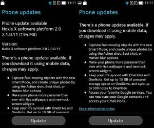 nokia x software platform 21 update nokia discussions
