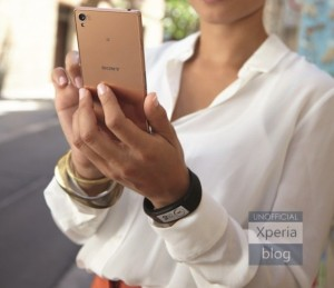 sony xperia z3 smartband talk render leaked xperia blog