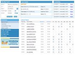 IRCTC Online Railway Reservation