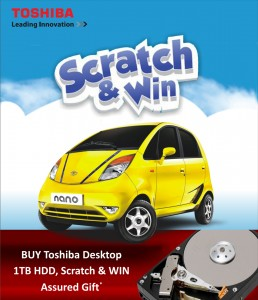 Toshiba Scratch & Win