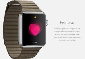 apple watch heartbeat