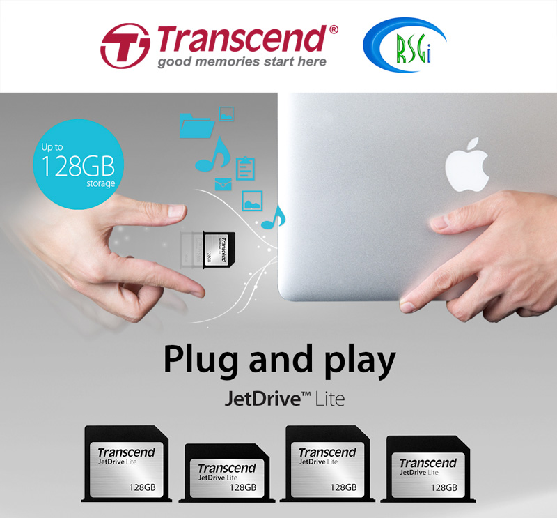 Transcend's Upgrade kit for Mac is now available in Apple Premium Reseller