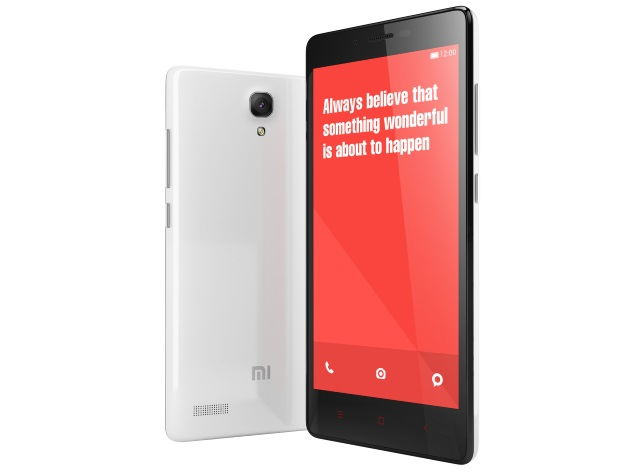 xiaomi redmi note white