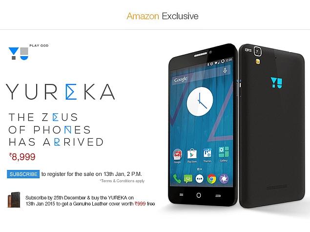 yureka registration amazon