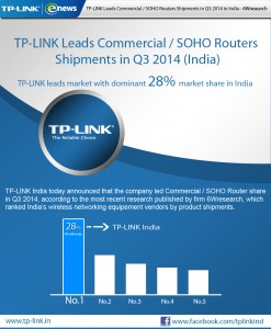 TP-LINK India No.1 in India   02