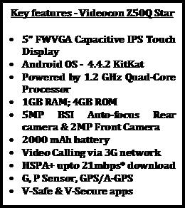 Videocon Z50Q Star
