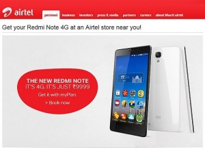 airtel_xiaomi_redmi_note_4g_offer_website_screenshot