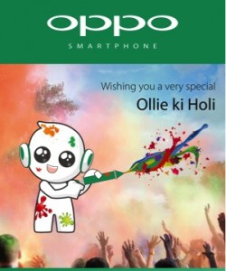 OPPO wishes you a very happy Holi