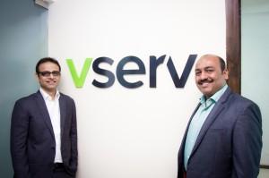 Vserv Co-Founders Dippak Khurana and Ashay Padwal