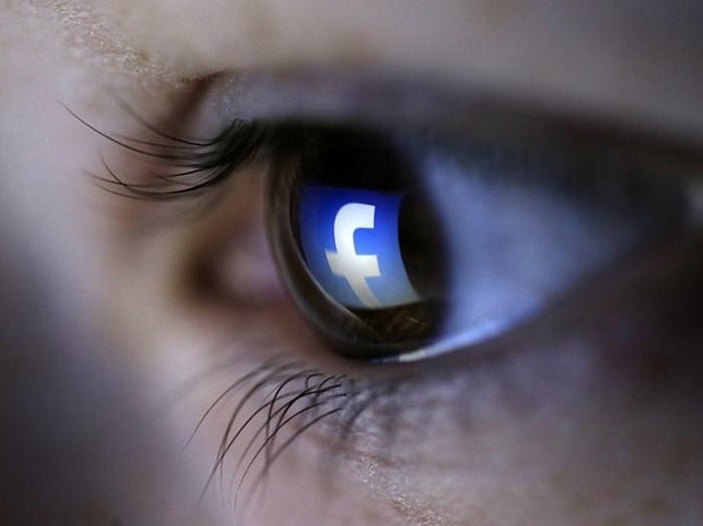 facebook logo eye