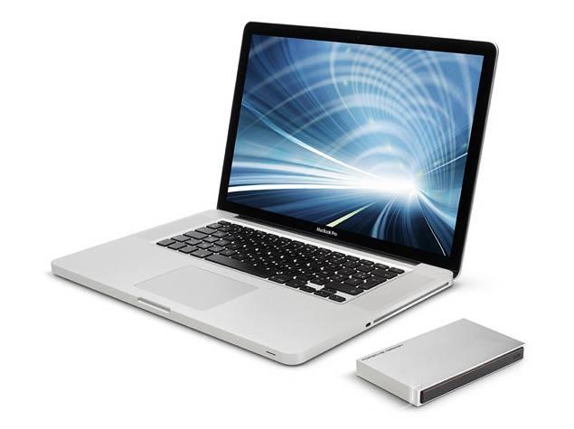 lacie porsche design mobile drive with macbook