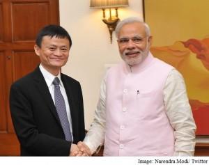 narendra modi jack ma meeting twitter