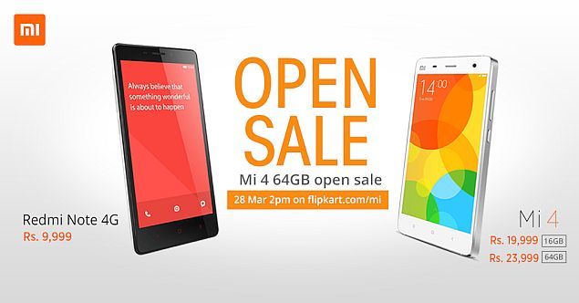 xiaomi mi 64gb open sale
