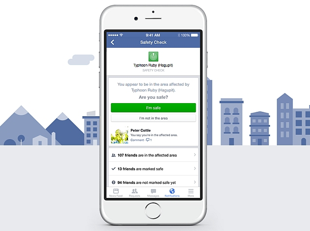 facebook safety check app
