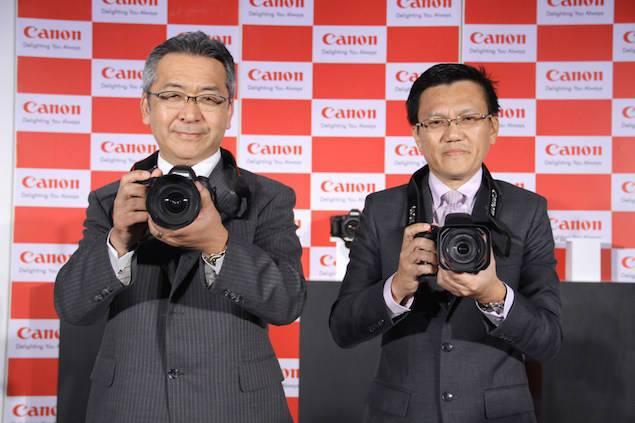 Canon Camera unveiling 1