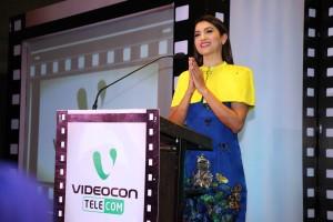 Gauhaar Khan Brand ambassador, Videocon Telecom