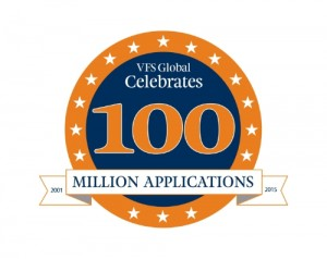 VFS Global processes its 100 millionth application