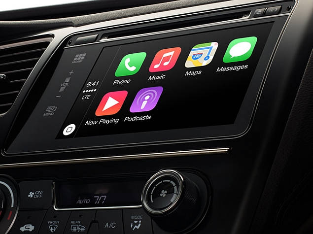 apple carplay website home screen
