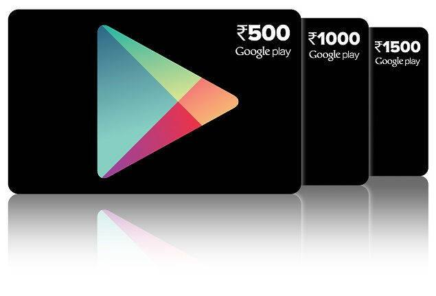 google play prepaid voucher