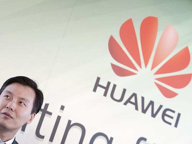 huawei logo press image
