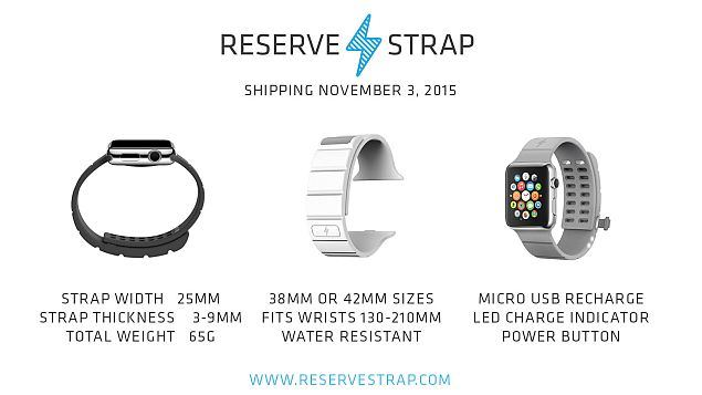 reverse strap apple watch