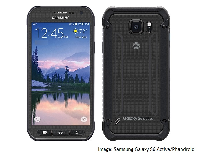 samsung galaxy s6 active leak company website phandroid