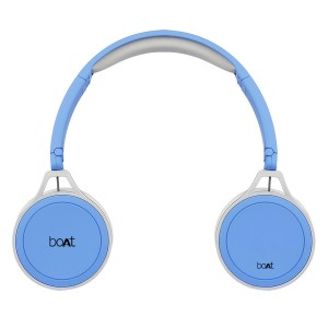 Rockerz on Ear (Blue - Front view)