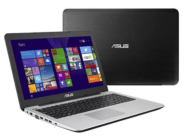 asus x555 laptops front back