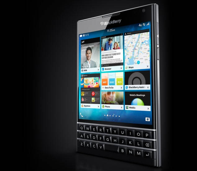 blackberry passport official website