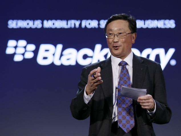 john chen blackberry enterprise