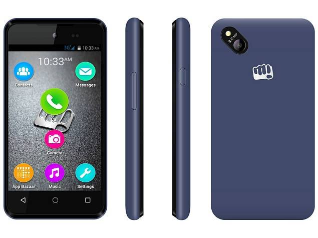 micromax bolt d303 grey blue