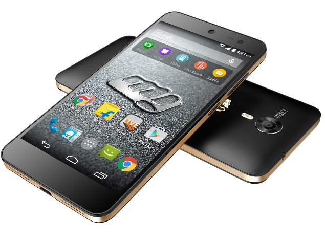 micromax canvas xpress 2 screen