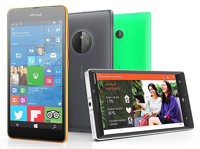 microsoft windows 10 lumia phones