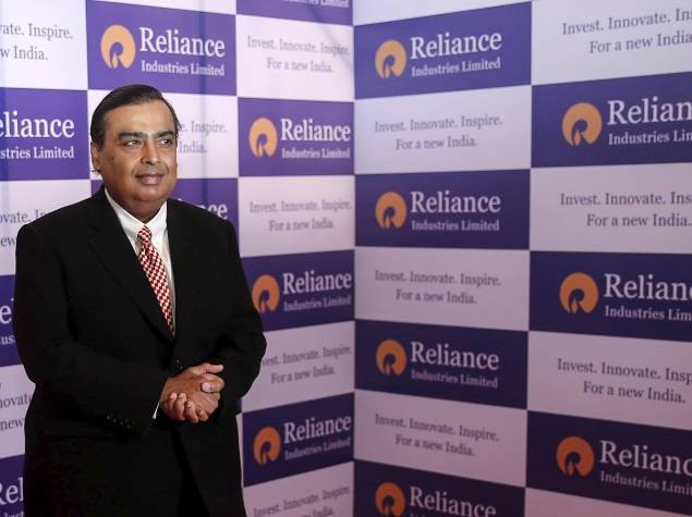 mukesh ambani reliance