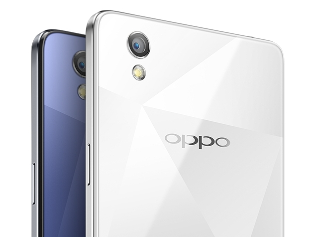 oppo mirror 5 blue white colours