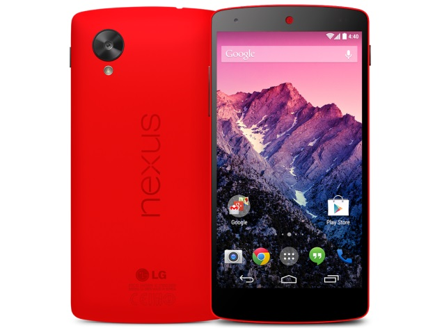 red nexus 5 play store