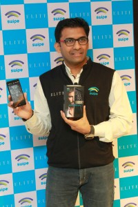 Mr. Shripal Gandhi Founder & CEO Swipe Technology unveiling ELITE on Freedom OS.2