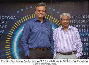 Prahalad & Asoke_ Founders of InterpretOmics_Pic