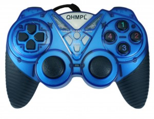 QHM7487-2V C Game Pad Blue