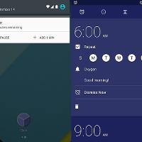 Google Clock App