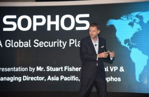 Introducing Sophos - A Global Security Player by Stuart Fisher, Regional VP & Managing Director, Asia Pacific, Sales, Sophos.