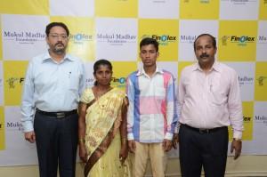 L-R Dr. Ashutosh Muley, Asmita Shinde, Vishwas Shinde & T. K. Kakade