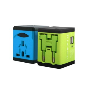 Front View -Globe Trotter-Travel Adapter