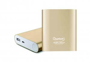 Gold 10,400mAh Power Bank
