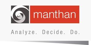 Manthan logo analyze decide do