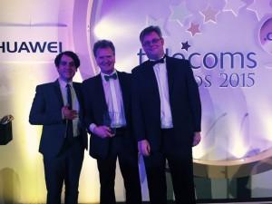 Steve Summers_Market Unit Head_Europe _receiving the Award