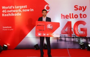 Vodafone India rolls out 4G Services in Kozhikode