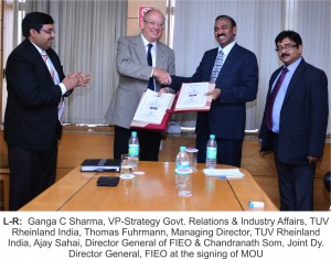 TUV Rheinland Signs MOU with FIEO_Picture